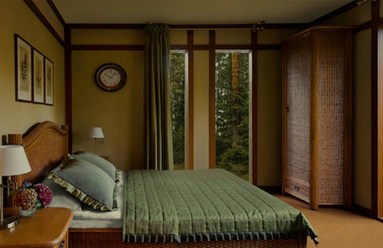 лето. шале N7. первая спальня